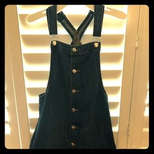 Dress overall from AMERICAN EAGLE OUTFITTERS